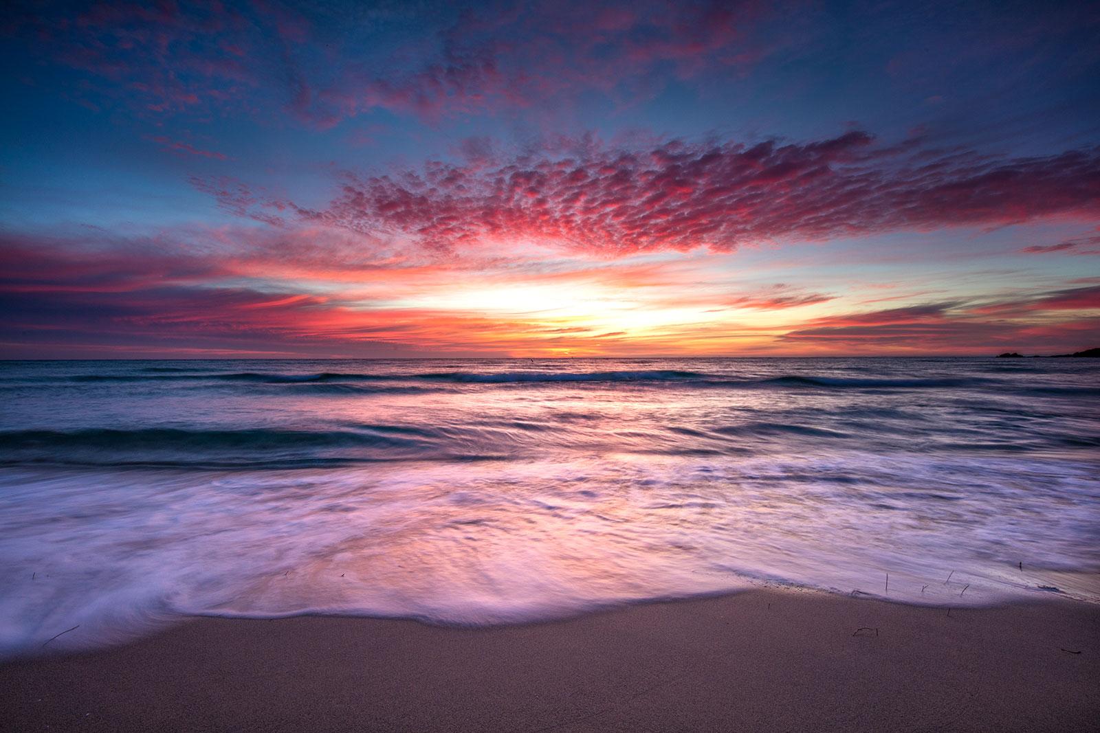 Ocean Sunset - Sean Scott Photography